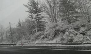 Snow October 29, 2012